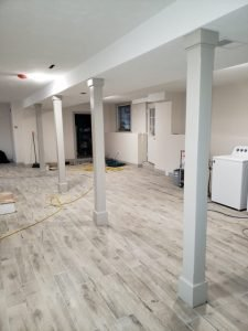 Wilmington- Basement affected by Water Damage - Mold