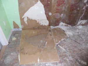 Wilmington - Basement Stairs rebuild 1